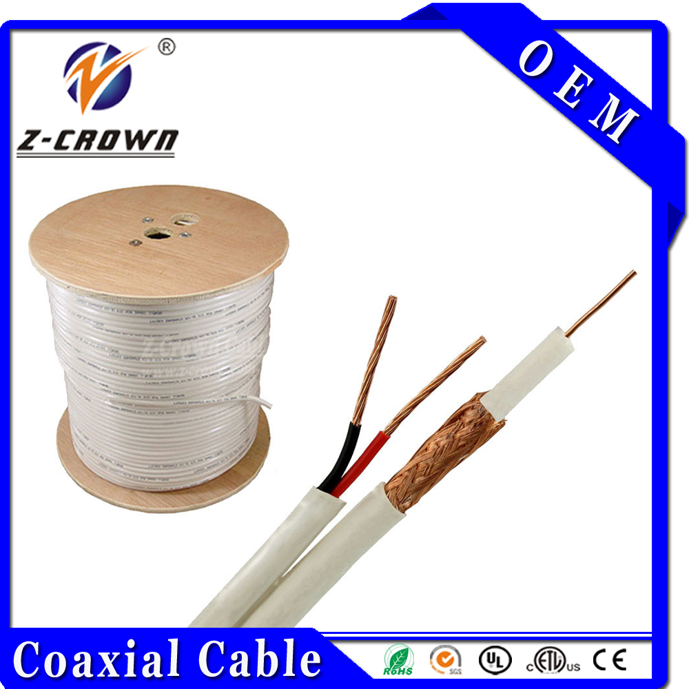 RG6+2C Coaxial Cable