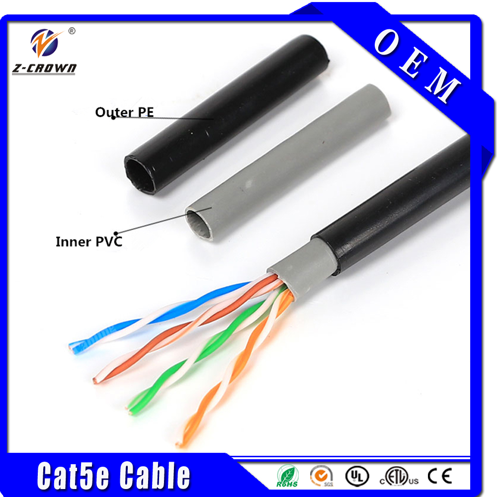 Cat5e UTP/STP/FTP Outdoor Cable