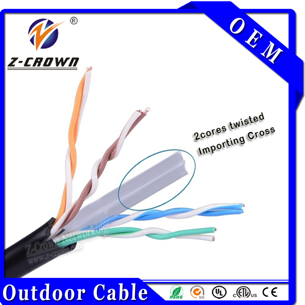 Cat6 UTP/STP/FTP Outdoor Cable