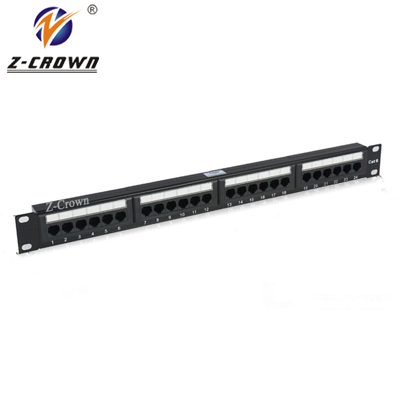 24Ports Cat6 UTP Patch Panel