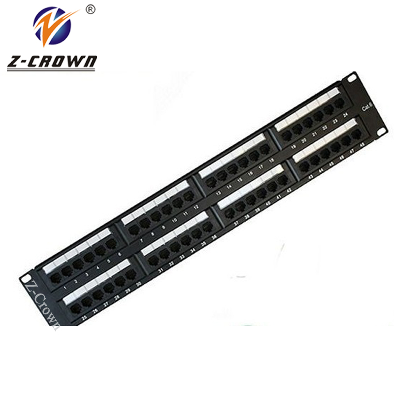 48Ports Cat6 UTP Patch Panel