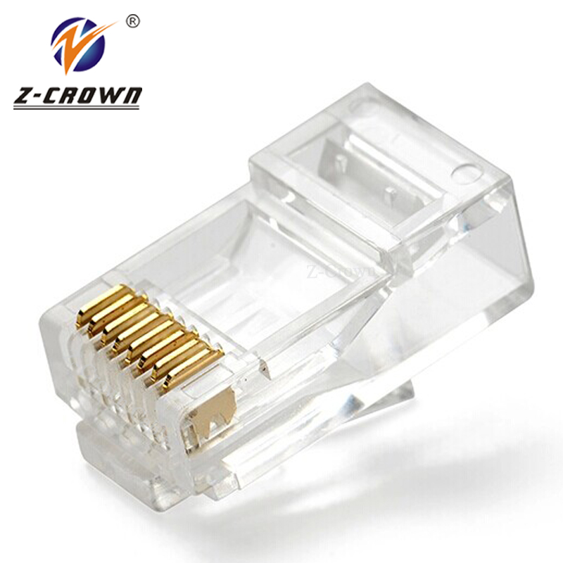 Cat5e UTP 8P8C RJ45 Connector