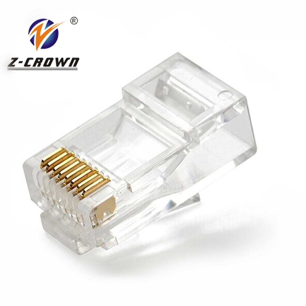 Cat6 UTP Connector Ethernet RJ4