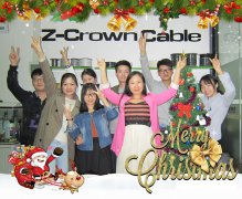 Z-Crown Best Wishes for Christmas and the New Year.