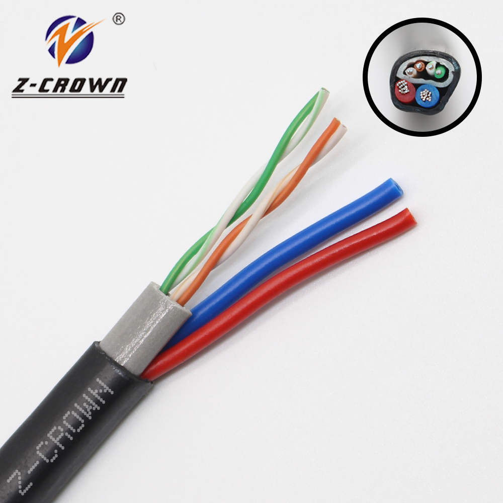 Outdoor Cable with 2 powers Z-C